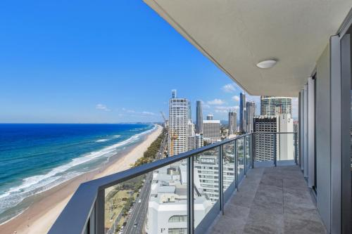 A balcony or terrace at Surf 150