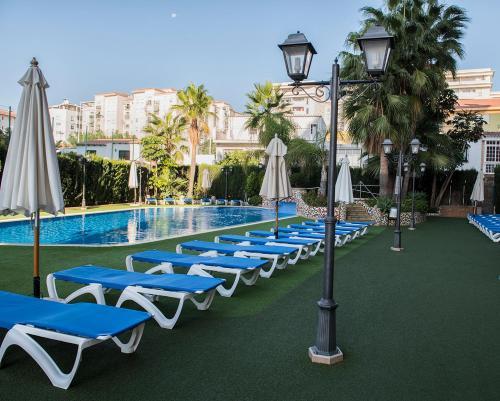 Bassein majutusasutuses Apartamentos Mediterráneo Real või selle lähedal