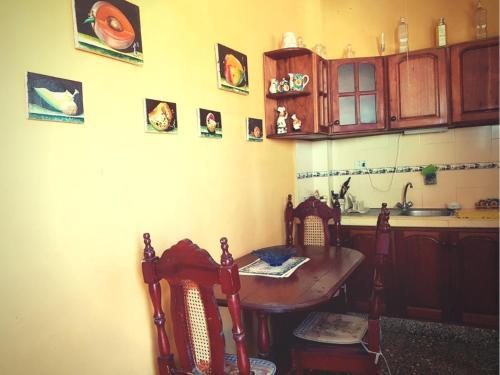 Küche/Küchenzeile in der Unterkunft Casa Yahima Municipio Playa