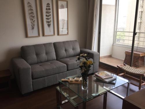 Zona de estar de Bellavista Forestal Apartment