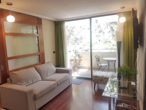 Zona de estar de J&F Apartamento Santa Beatriz