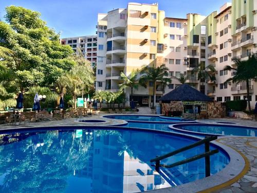 The swimming pool at or near Paradise Thermas Residence