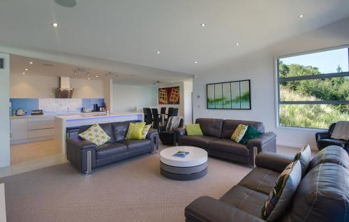 A seating area at St Lukes Villa B