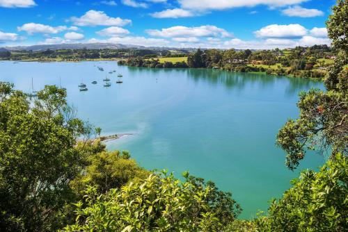 Vista sul lago nelle vicinanze dello chalet