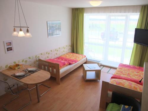 Posezení v ubytování Ubytování U Aurory