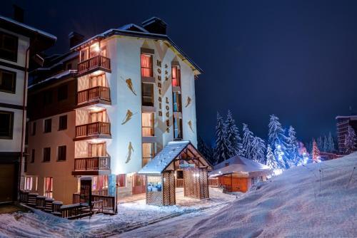 Mountain Lodge Winter Half-Board during the winter