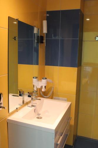 Ванная комната в Гостиница Украина