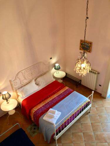Letto o letti in una camera di Residenza Napoli Centro