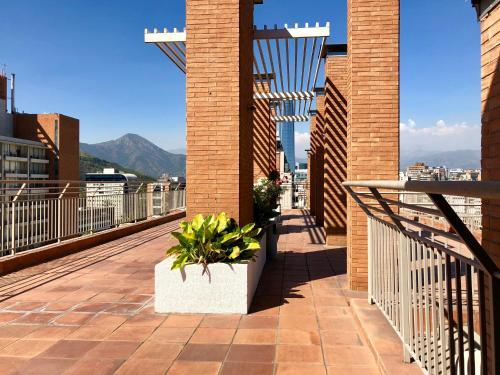 Un balcón o terraza de Crossurapart Padre Mariano