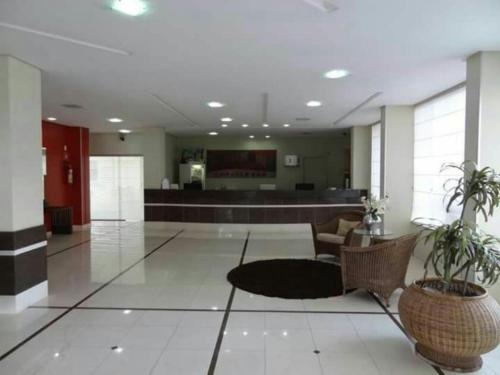 The lobby or reception area at Serra Park Flat Residence