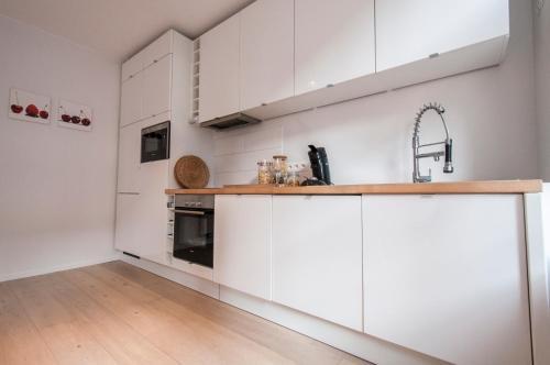 A cozinha ou cozinha compacta de Heart of the City