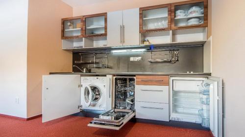 Kuchnia lub aneks kuchenny w obiekcie Apartman Mariana