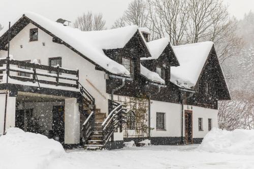 Ferienhaus Hiessberger im Winter