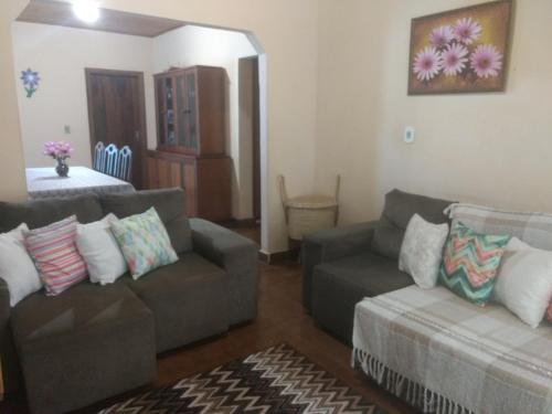 A seating area at Casa de Bonito