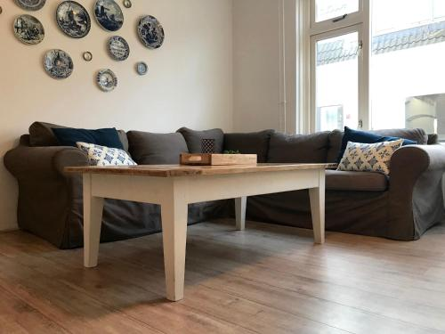 A seating area at Zandvoort Centre Holiday Homes