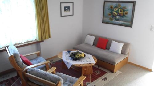 A seating area at Casa Collina