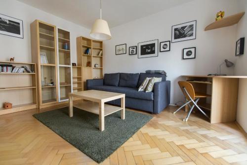 Zona de estar de Photographer's Nest