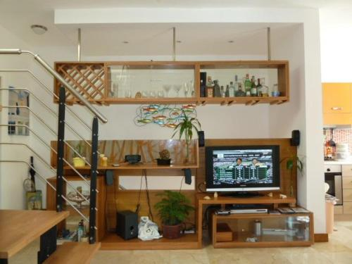 A television and/or entertainment center at Apartamento Fenix