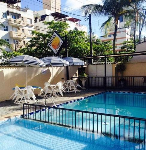 The swimming pool at or near Hotel Pousada do Parque