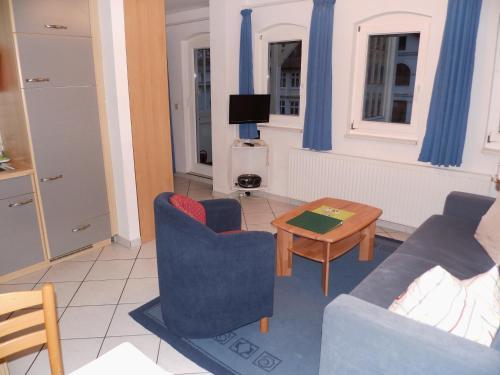 Posezení v ubytování Apartments Haus Eintracht Sellin