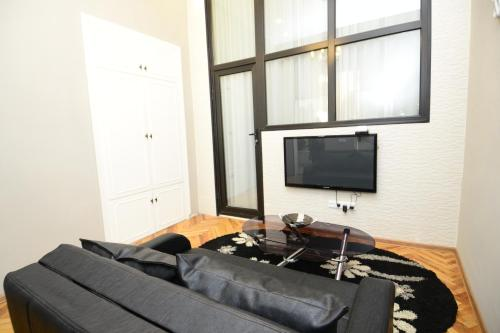A television and/or entertainment center at Nica's Apartment
