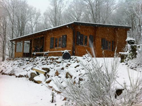 Le Monteil during the winter