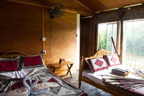 Un ou plusieurs lits dans un hébergement de l'établissement Anushka Nera Nature House