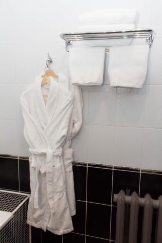 Ванная комната в Отель Минин на улице Пожарского