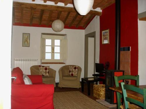 Area soggiorno di Casa Verde
