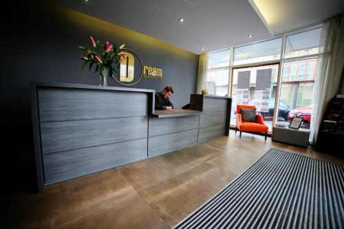 The lobby or reception area at Dream Apartments Belfast