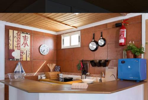 A kitchen or kitchenette at Apartamento Santa Cruz de Tenerife