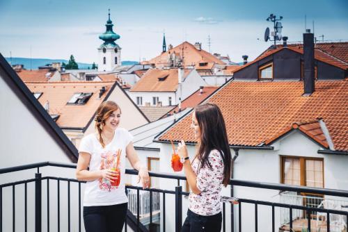 Clients de l'établissement Residence U Černé Věže České Budějovice