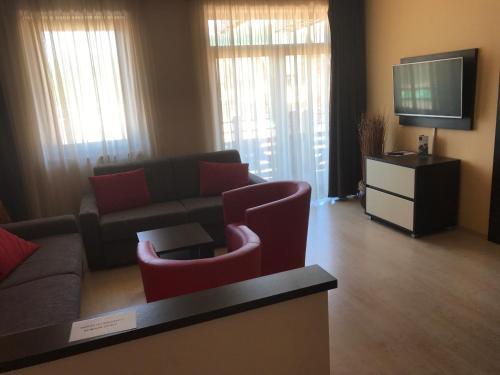 Posezení v ubytování Apartmán Paradise