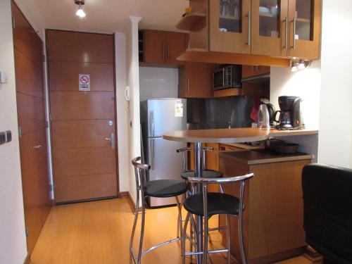 Una cocina o zona de cocina en Ram Apartamentos