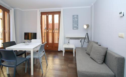 Area soggiorno di Tramontana Apartments
