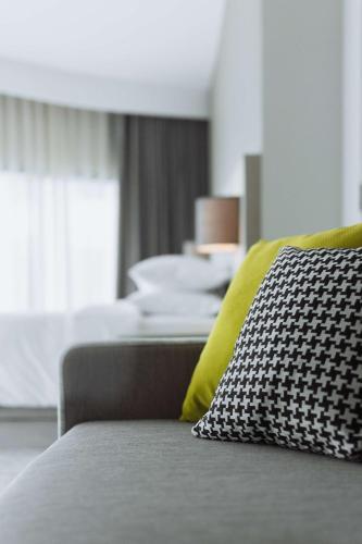 ハイアット プレイス バンコク スクンビットにあるベッド