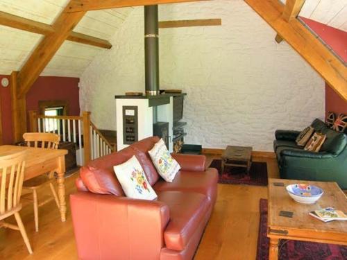 Seating area sa The Granary, Abergavenny