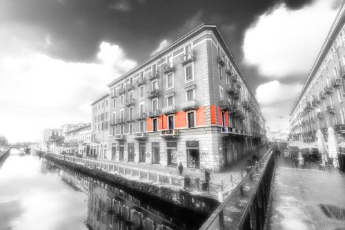 Apartment 3BR 2BT - Naviglio during the winter