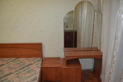 Телевизор и/или развлекательный центр в Apartament na Flotilya