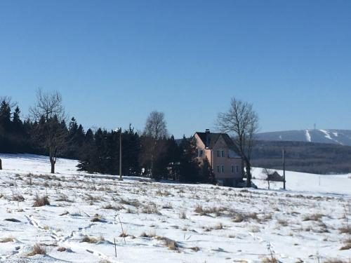K Zastavce 557 im Winter