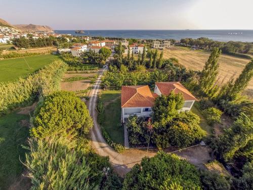 A bird's-eye view of Eressos Ilios Apartments