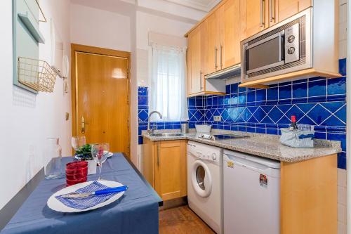 Kuchnia lub aneks kuchenny w obiekcie La Estancia Inolvidable