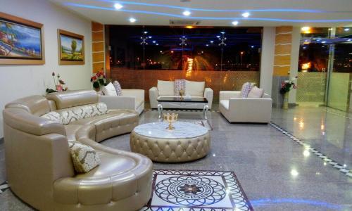 The lobby or reception area at Wanasa Hotel Apartments