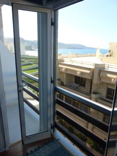 A balcony or terrace at Apartamento La Mar