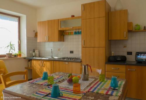 Cucina o angolo cottura di Casa Jacquard