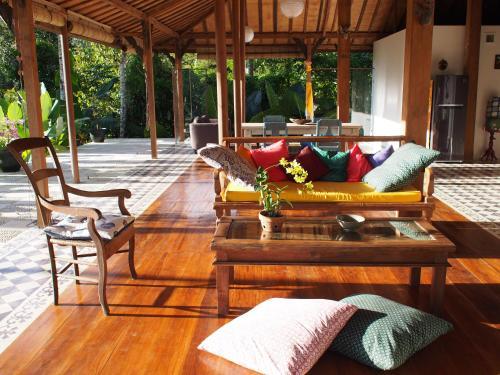 Et opholdsområde på Villa Loti