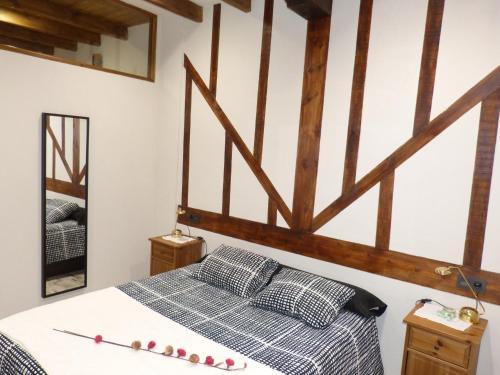 Cama o camas de una habitación en Las Catedrales
