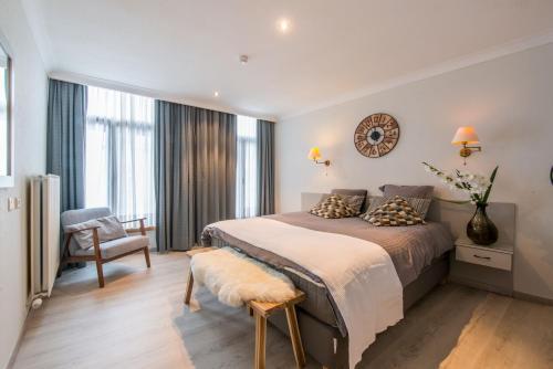 Uma cama ou camas num quarto em Inn Bruges