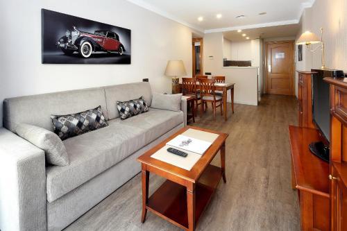 Setusvæði á Apartaments-Hotel Hispanos 7 Suiza