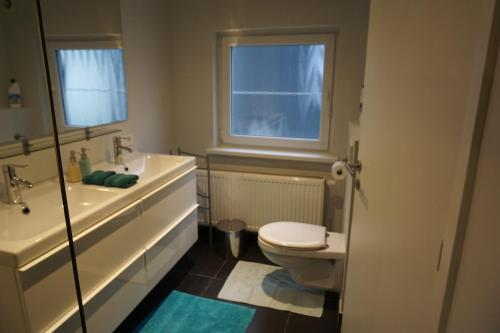 Et badeværelse på Apartment At Ghent